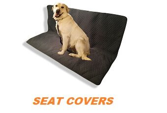 Pet Car Seat Covers for Fur Free Upholstery